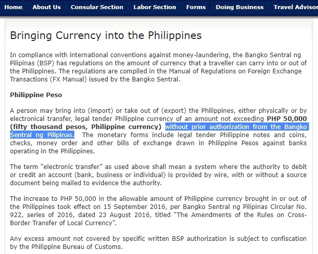 Visa and Passport – Page 2 – Philippines Information