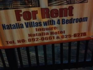 Natalia Villas Rental