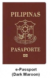Philippines E-Passports Dark Maroon
