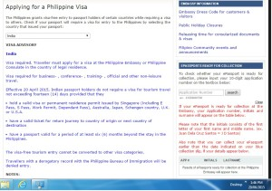 Philippines Visa for Indian