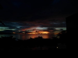Puerto Galera Sunrise 5.18am 13 Sept 2013