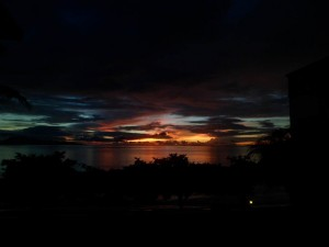 Puerto Galera Sunrise 5.20am 13 Sept 2013