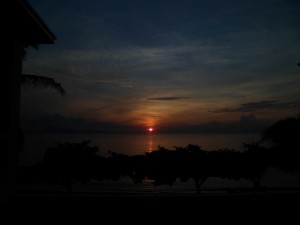 Puerto Galera Sunrise 5.42am 2 Sept 2013