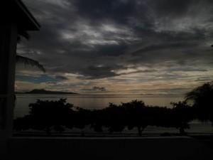 Puerto Galera Sunrise 6.35am 13 Sept 2013