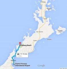 Puerto Princesa to Sabang, Palawan