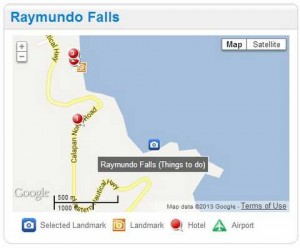 Raymundo Falls, Puerto Galera
